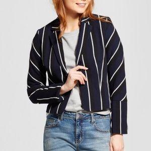 Long sleeve stripe blazer Who What Wear™️